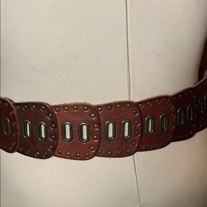 Fossil Leather Large Women's Belt preowned